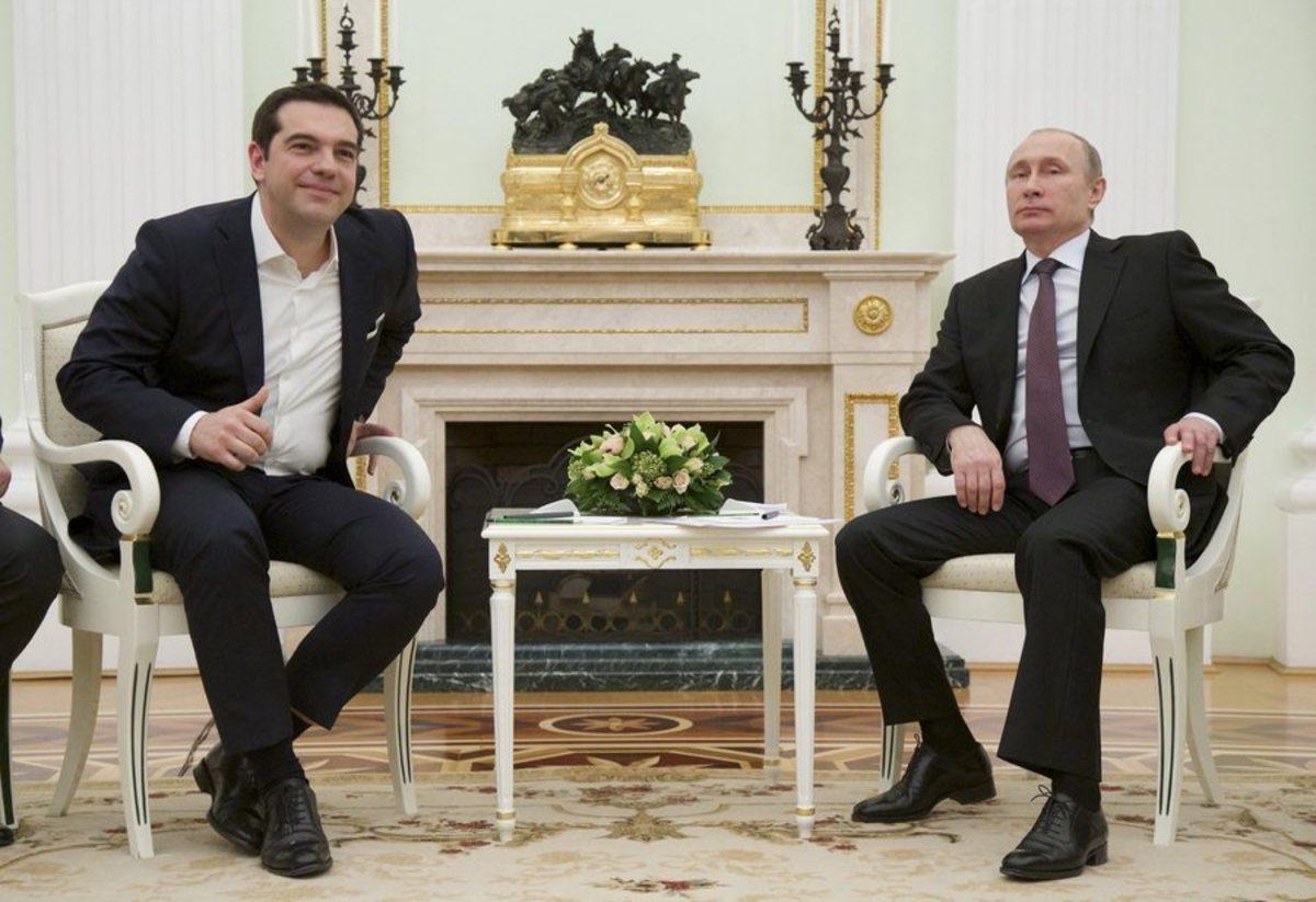 """Διαψεύδει ο Πούτιν το… """"αίτημα"""" Τσίπρα για δραχμή"""