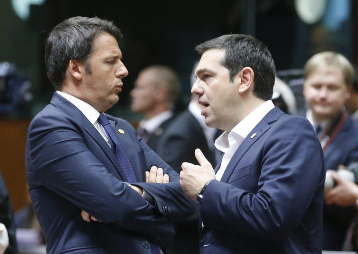 """«Ο Ρέντσι """"πέθανε"""", μόνο ο Τσίπρας έμεινε»"""