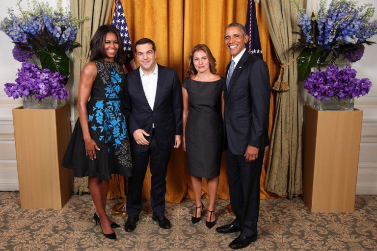 Είπαν τα προσωπικά τους Τσίπρας – Ομπάμα! Η Μισέλ, η Περιστέρα, τα παιδιά, τα νιάτα τους!