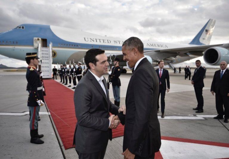 Ομπάμα: Τον αποχαιρέτησε (και) μέσω Twitter ο Αλέξης Τσίπρας [pic]