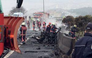 Συγκλονιστικές εικόνες από τη συντριβή ελικοπτέρου στην Τουρκία – Ποιοι ήταν οι επιβαίνοντες [pics, vids]