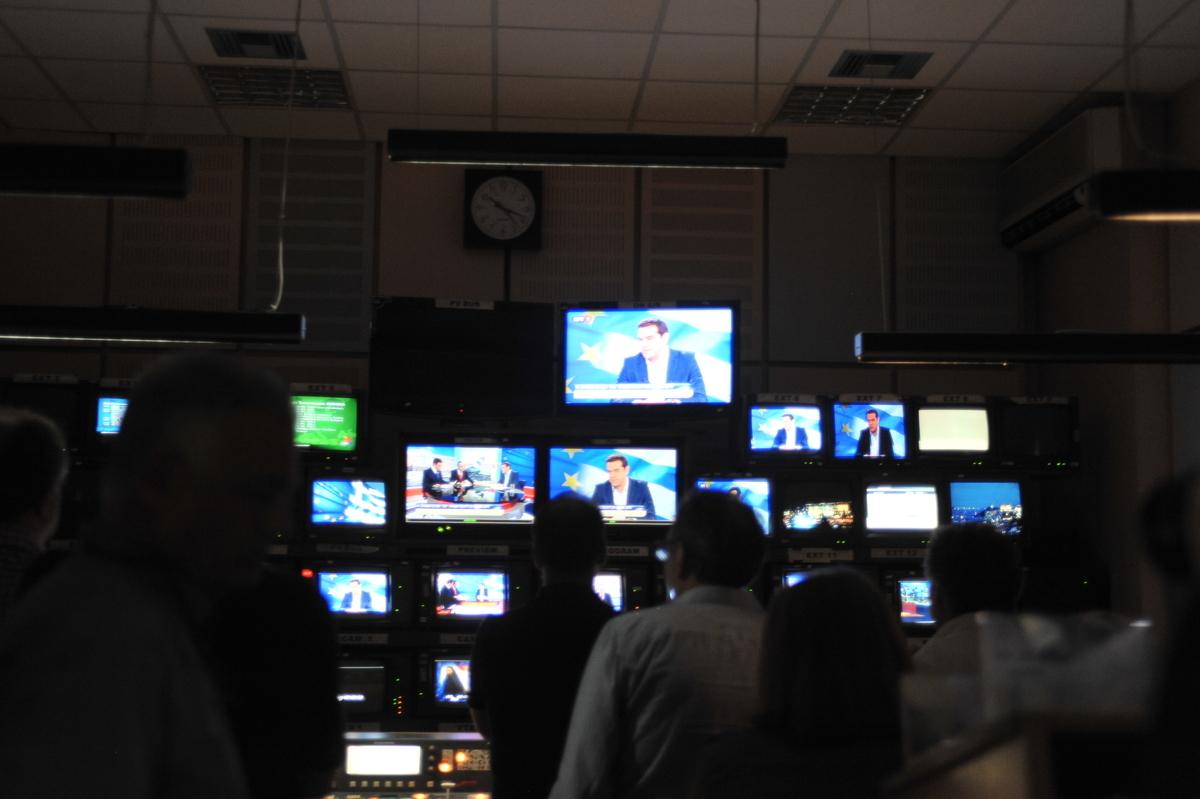 """Ο Μοσκοβισί """"καρφώνε锨τις προηγούμενες κυβερνήσεις για το φόρο στους τηλεοπτικούς σταθμούς"""