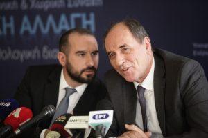 Τζανακόπουλος και Σταθάκης για τον πρόεδρο της ΔΕΣΦΑ: Σχιζοφρενικό κατηγορητήριο