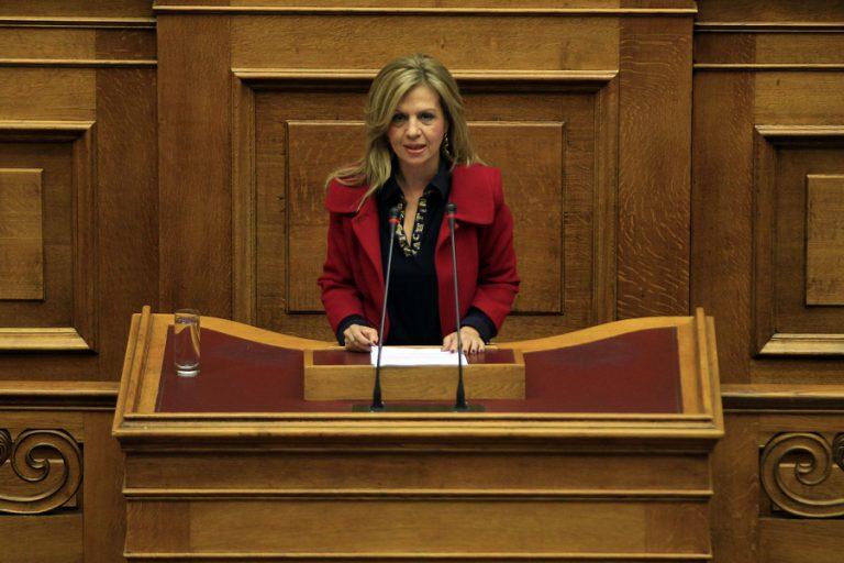 Τζούφη: Ιδού η συνομιλία μου με δημοσιογράφο του ΑΝΤ1 για το τροχαίο στην Αθηνών – Λαμίας