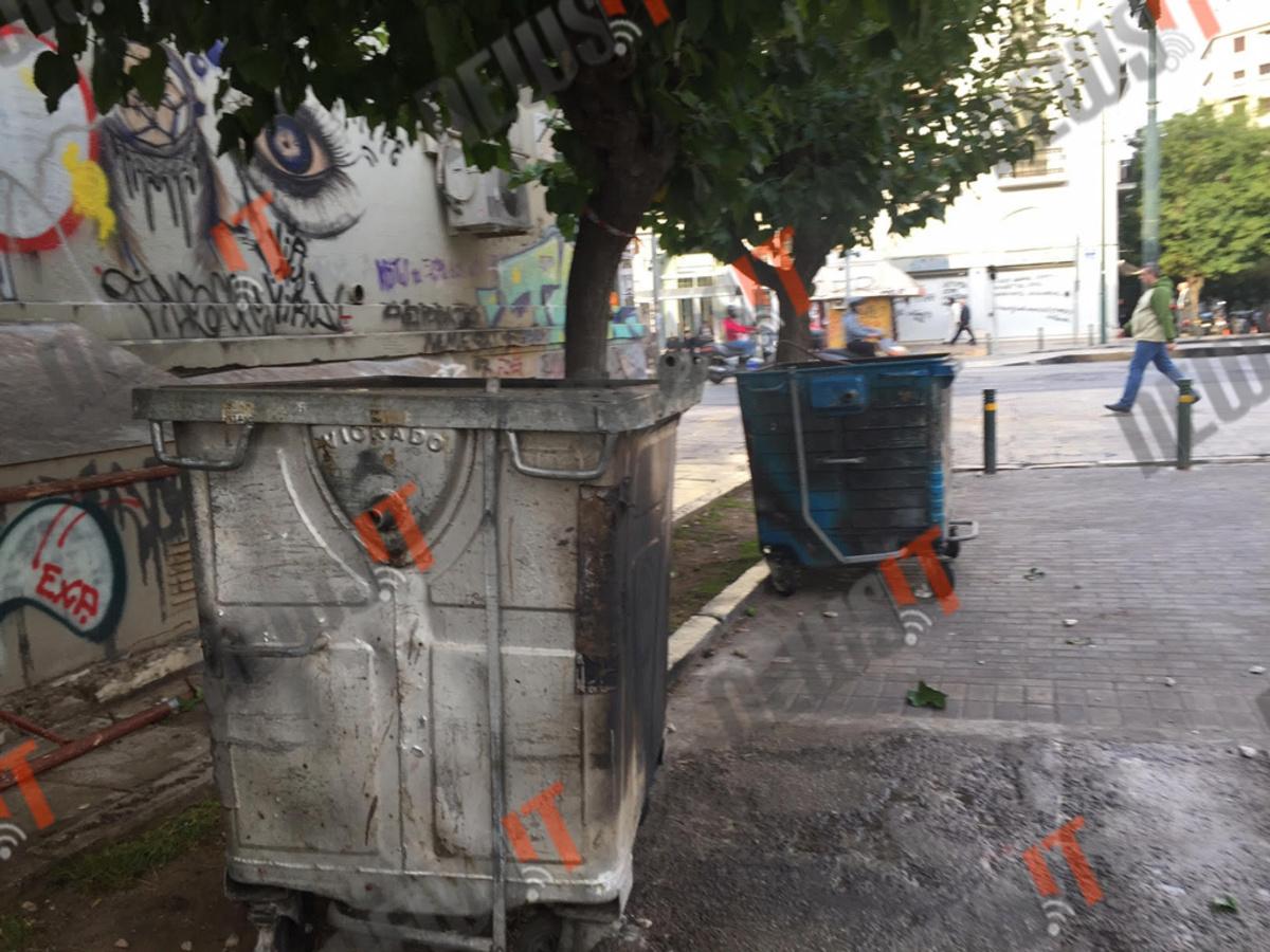 Επι ώρες έκαιγαν την Αθήνα και συνέλαβαν δυο! [pics, vid]