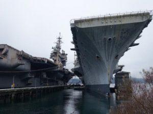 Απίστευτο βίντεο! Τι συμβαίνει με το αεροπλανοφόρο USS Independence;