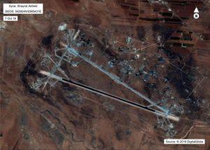 Γιατί οι ΗΠΑ χτύπησαν την συριακή αεροπορική βάση Σαϋράτ στην Χομς