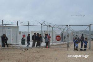 Δύο τραυματίες σε νέα επεισόδια στο hot spot της Χίου