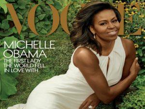 """Εκθαμβωτικό """"αντίο"""" της Μισέλ Ομπάμα στη Vogue! [pics]"""