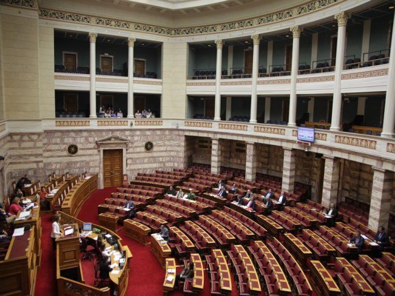 Στην Επιτροπή Θεσμών και Διαφάνειας της Βουλής οι Μεϊμαράκης, Βενιζέλος, Λεβέντης