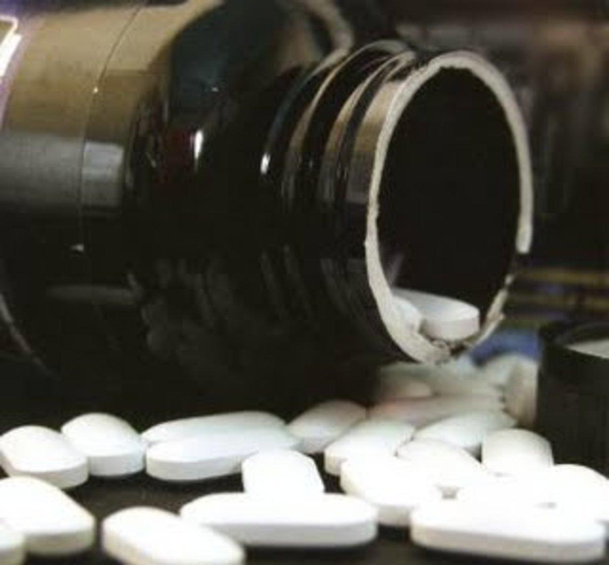 Χάπια για τη γρίπη με ταλκ