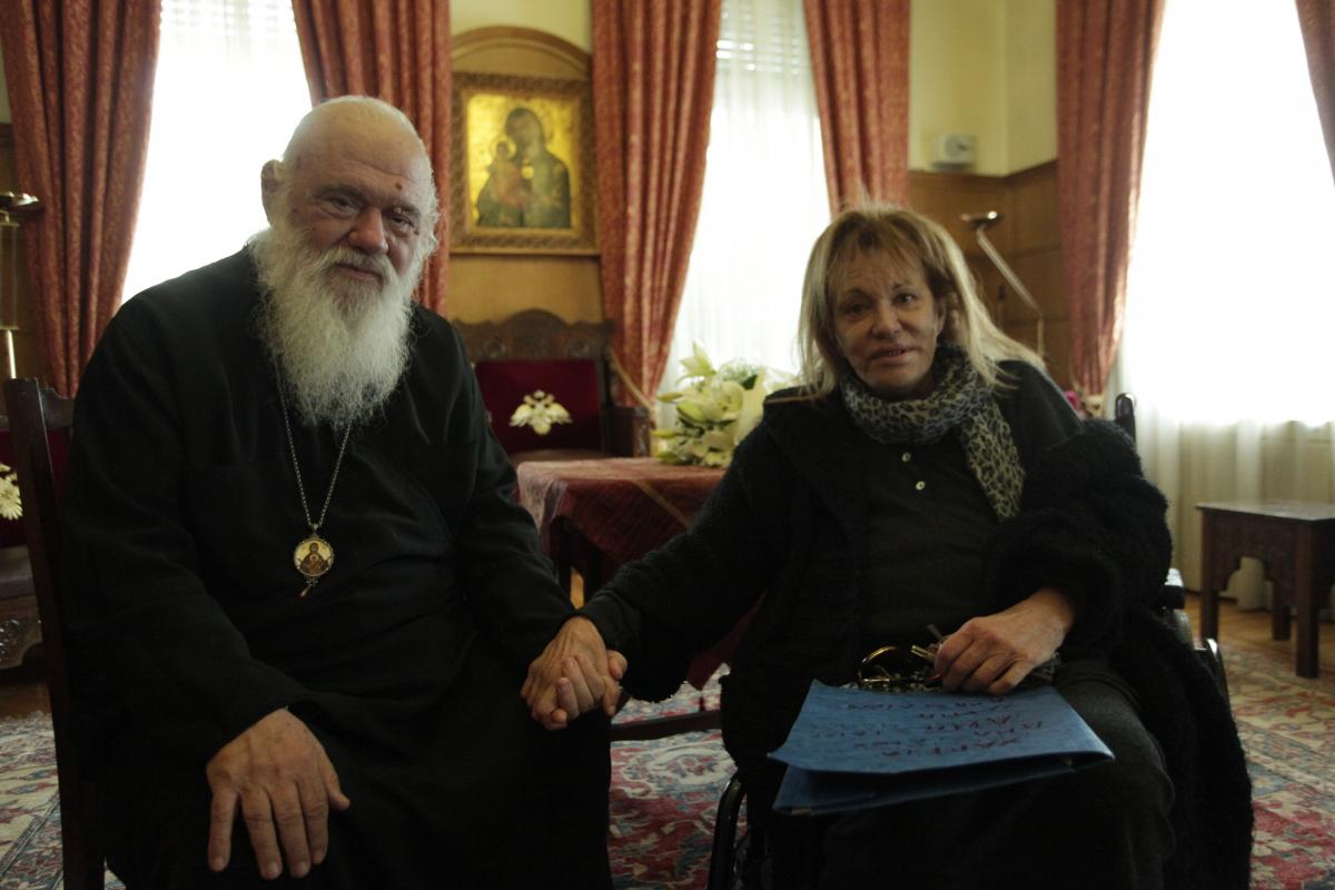 Μαίρη Χρονοπούλου: Εσπευσμένα στο νοσοκομείο με πρόβλημα καρδιάς