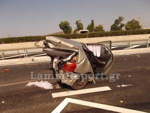 Τροχαίο Αθηνών – Λαμίας: Το κλάμα του μωρού στο πάρκινγκ και το απίστευτο παιχνίδι της τύχης [pics]