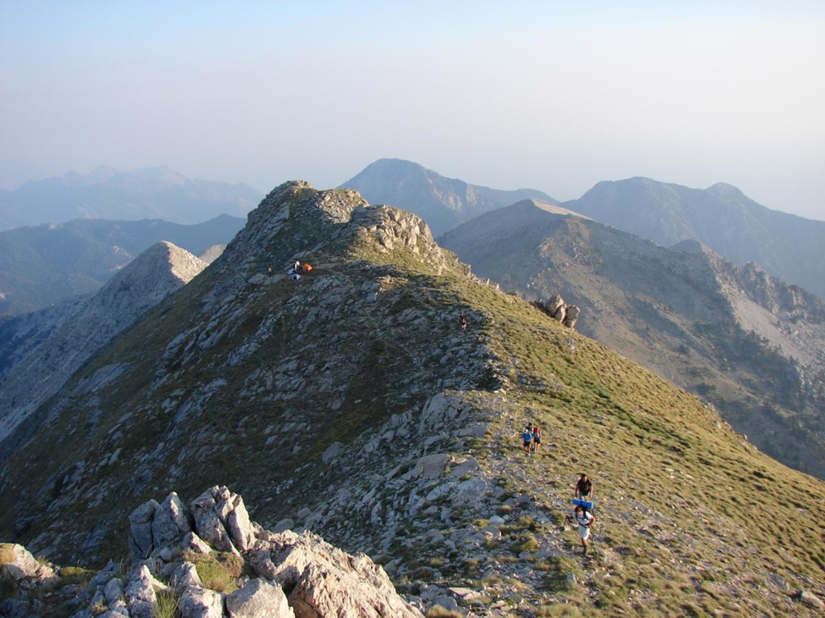 Ταϋγετος: Διασώθηκε Σουηδός ορειβάτης