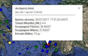 Σεισμός στην Κω: 4,3 Ρίχτερ χτύπησαν το νησί – Οι εκτιμήσεις των σεισμολόγων!