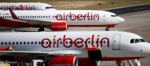 """Βαράει """"κανόνι"""" η Air Berlin – Σε διαδικασία πτώχευσης"""