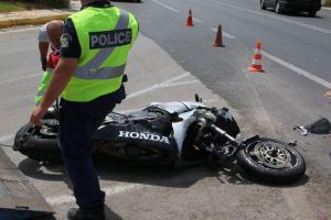 Κρήτη: Χαροπαλεύει νεαρός μετά από τροχαίο – Σφοδρή σύγκρουση αυτοκινήτου με μηχανή!