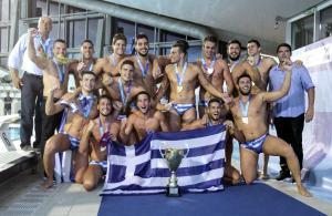 """Εθνική Νέων πόλο: """"Χρυσά"""" παλικάρια! """"Παγκόσμια"""" η Ελλάδα"""