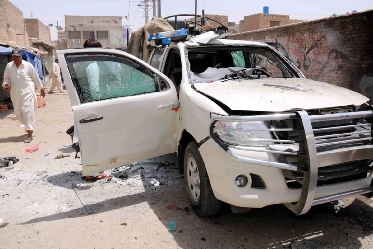Τουλάχιστον 25 νεκροί από επίθεση βομβιστή-καμικάζι στο Πακιστάν