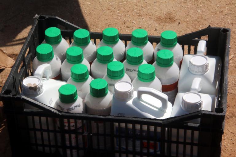 Κατασχέθηκαν 700 κιλά παράνομα φυτοφάρμακα