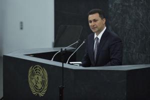 Σκόπια: Απαγγέλθηκαν κατηγορίες κατά του Γκρουέφσκι για νοθεία στις εκλογές του 2013