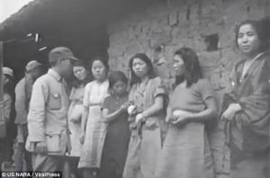 Σπάνιο βίντεο με Κορεάτισσες σκλάβες του έρωτα του ιαπωνικού στρατού στον Β' Παγκόσμιο Πόλεμο