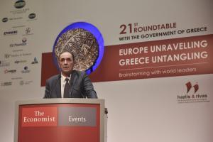 Σταθάκης για… όλα στο συνέδριο του Economist