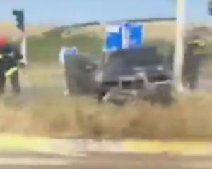 Κοζάνη: Αυτοκίνητο πήρε φωτιά στην Εγνατία Οδό – Σώθηκε ο οδηγός του [vid]