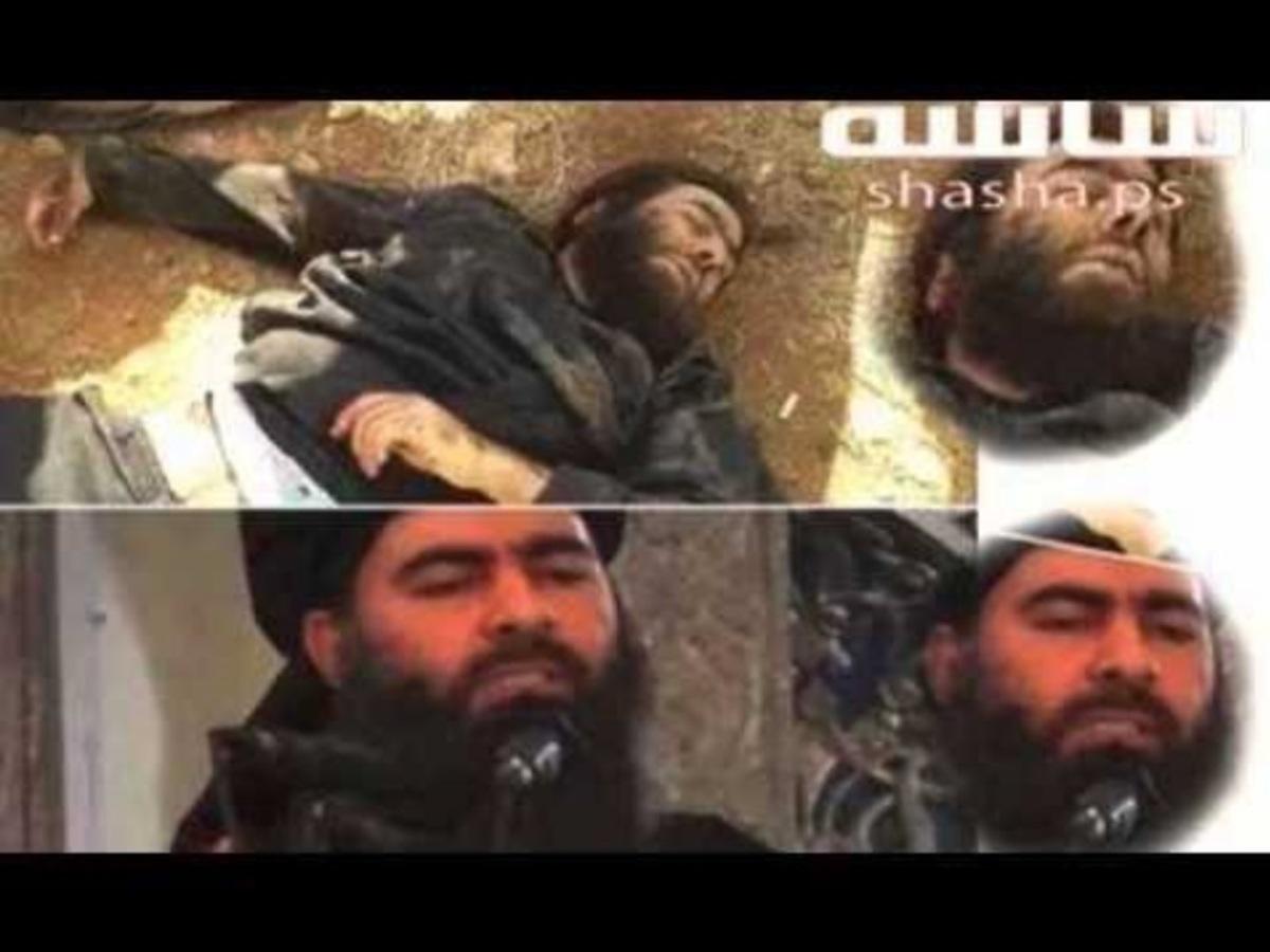 Το διαδίκτυο κατακλύζεται από φωτογραφίες που φέρονται να δείχνουν τον Μπαγκντάντι νεκρό