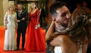 """""""Ελληνίδα"""" η μητέρα του Μέσι! Έχει κόντρα με τη νύφη της – Στο γάμο προσπάθησε να την επισκιάσει [pics, vid]"""