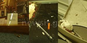 Ρημάζει το Θεατρικό Μουσείο! Σύριγγες τοξικομανών και κατσαρίδες παντού – Εικόνες σοκ!