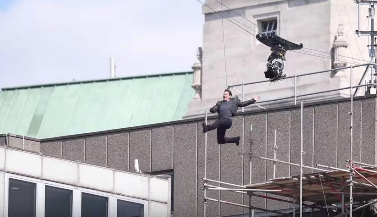 """""""Τσακίστηκε"""" ο Τομ Κρουζ, σταματά το Mission: Impossible 6 [vids]"""