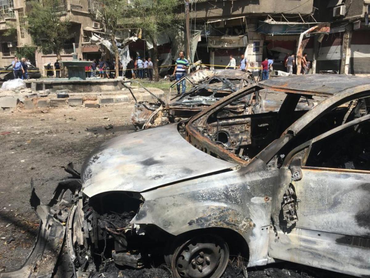 Δαμασκός: Βομβιστές αυτοκτονίες την πλημμύρισαν με αίμα! Τουλάχιστον 18 νεκροί και 15 τραυματίες [pics, vid]