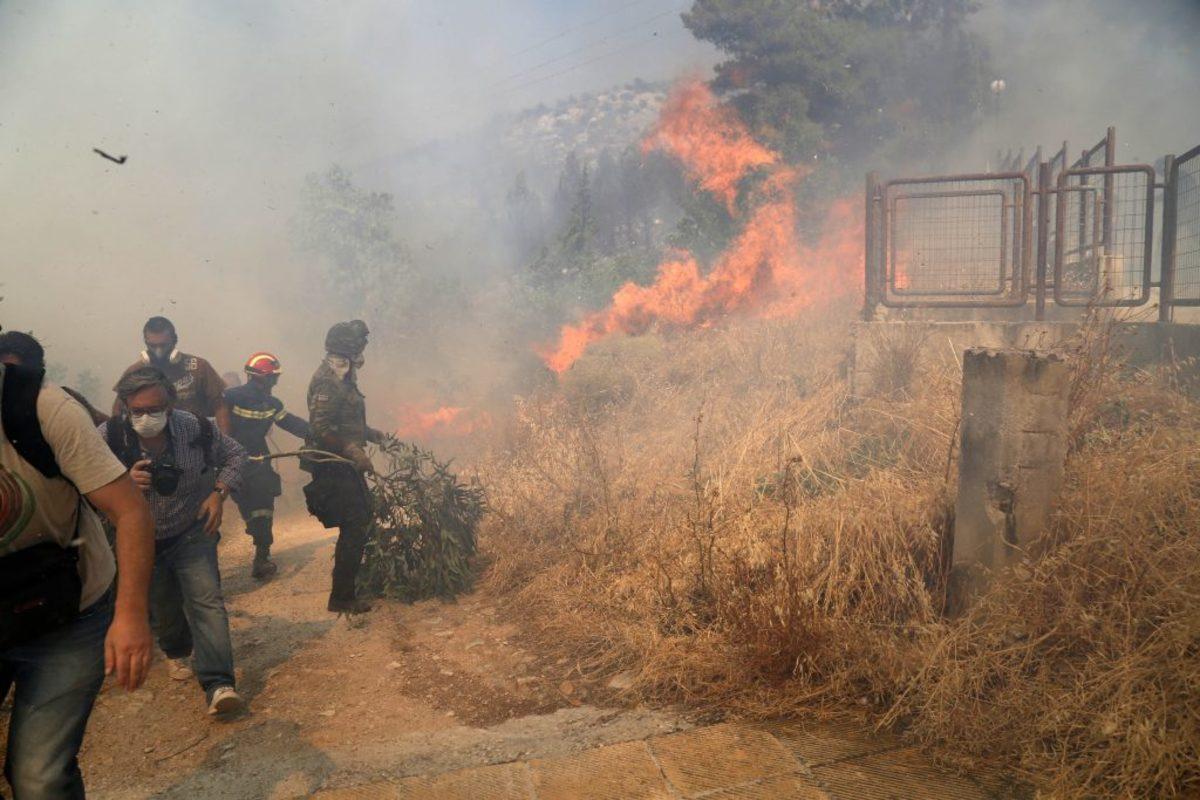 Μεγάλος κίνδυνος πυρκαγιάς στην Αττική, τη Στερεά Ελλάδα και το Βόρειο Αιγαίο