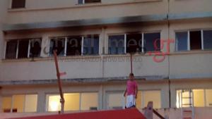 Τρόμος σε φλεγόμενο ξενοδοχείο στην Αχαΐα! Εγκλωβίστηκαν άνθρωποι! [vid]