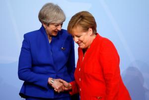 G20: Στο μυαλό της Μέρκελ! Τι σκεφτόταν χαιρετώντας τους ηγέτες [pics]