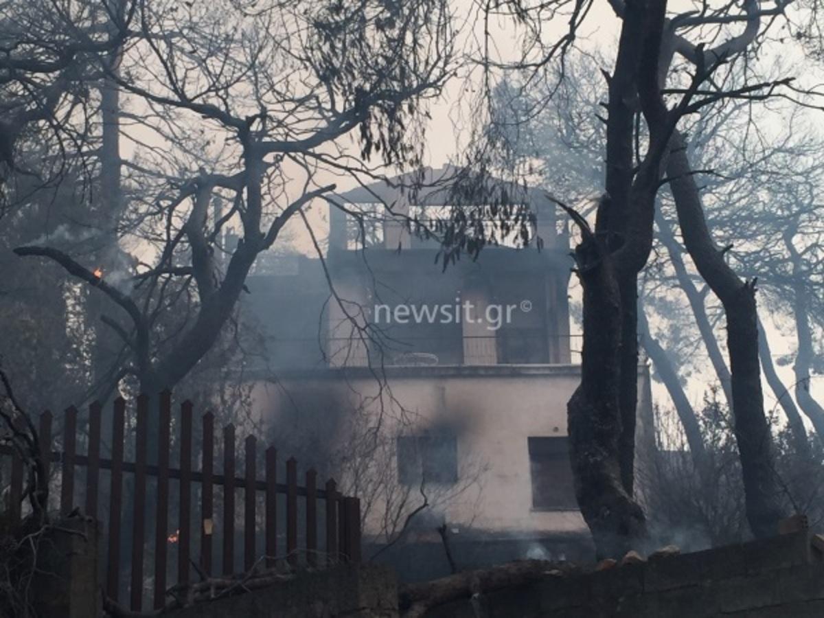Φωτιά στον Κάλαμο: Σε κατάσταση έκτακτης ανάγκης αναμένεται να τεθεί Δήμος Ωρωπού