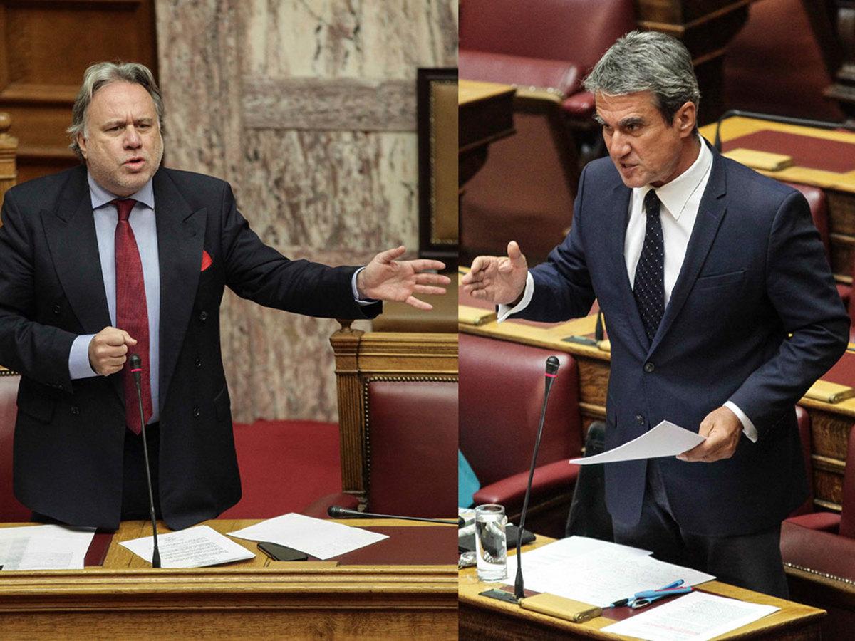 """""""Πεζοδρόμιο"""" πάλι η Βουλή – Λοβέρδος σε Κατρούγκαλο: Είσαι πολιτικό μαλάκιο"""