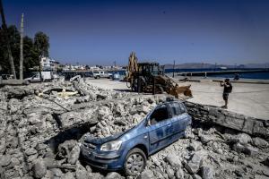Σεισμός: Νέα δόνηση στην Κω! 4,1 Ρίχτερ
