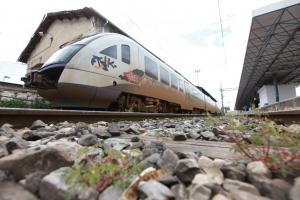 Εκτροχιασμός τραίνου στην Λάρισα