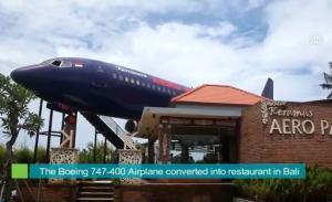 Δεν είναι αεροπλάνο! Είναι εστιατόριο στο Bali!