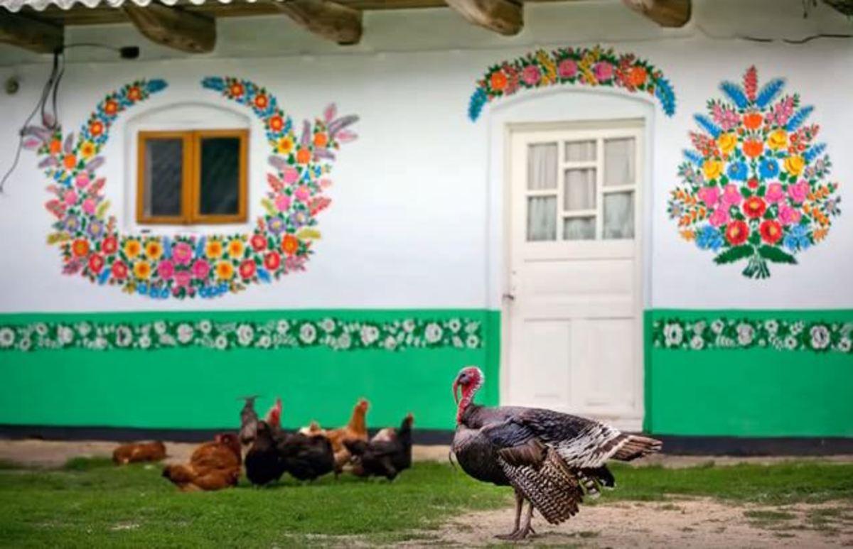 Το χωριό της Πολωνίας που είναι μια… ζωγραφιά!