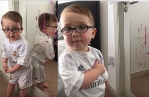 """Μωρό απολογείται: """"Ο Μπάτμαν το έκανε, όχι εγώ!"""" [vid]"""
