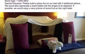 Τρολάρει ξενοδοχείο ζητώντας περίεργα πράγματα και αυτό του τα ικανοποιεί! [vid]