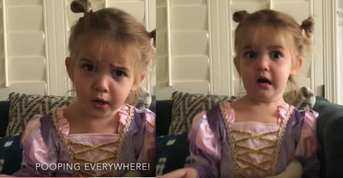 """Η μικρή Μίλα """"ξαναχτυπά""""! Γράφτηκε στον παιδικό σταθμό!"""