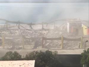 Πάτρα: Κατέρρευσε οροφή στο παλιό λιμάνι! Ένας νεκρός – Ψάχνουν για εγκλωβισμένους
