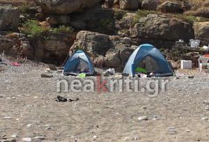Κρήτη: Φωτογραφίες ντοκουμέντα από το σημείο της οικογενειακής τραγωδίας