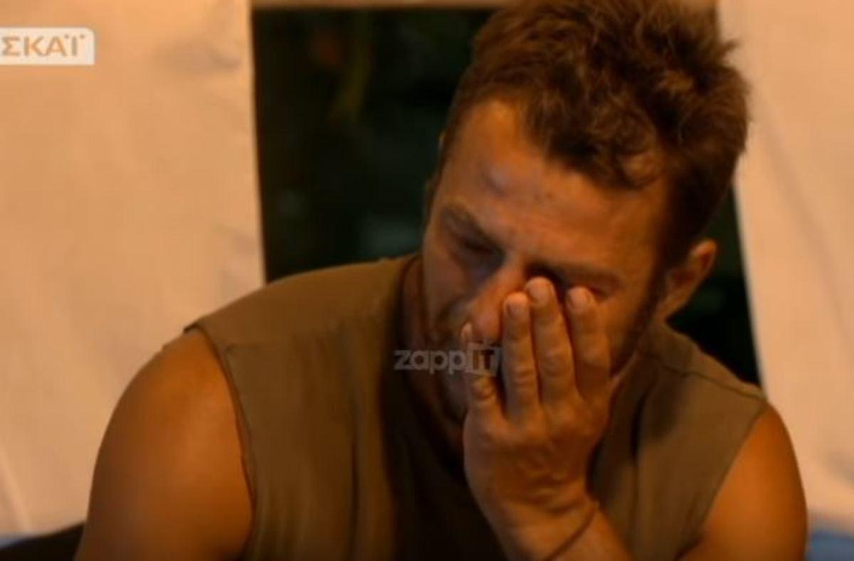 Αγγελόπουλος: Όσα δύσκολα πέρασε από την αρχή του Survivor