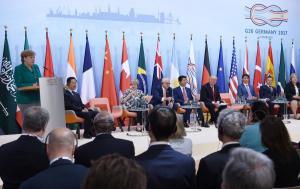 "G20: ""Λευκός καπνός""! Συμφωνία για κοινό ανακοινωθέν μετά από τα ""πείσματα"" Τραμπ"