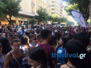 Survivor: Υστερία από θαυμαστές στη Θεσσαλονίκη! Έκλεισε ένα ρεύμα στην Τσιμισκή! [vid]